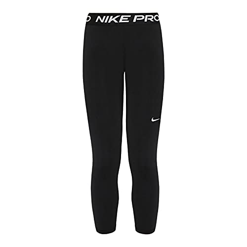 Nike Damen 365 Crop Leggings, Black/White, S