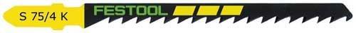Festool S 75/4 K - Hoja de sierra de calar (25 unidades)
