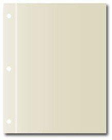 C.r. Gibson Pk 20 Sheet Protector Refills