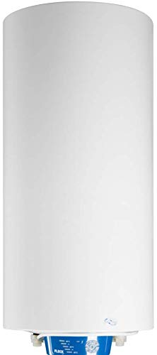 Fleck Grupo Ariston Termo Eléctrico 75 litros | Calentador de Agua Vertical y Horizontal, Multiposición, Serie Nilo – Control Electrónico de Temperatura, Resistencia Cerámica Envainada