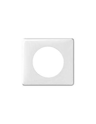 Legrand 068631 Céliane 1 placa para poste, blanco