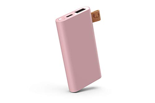 Fresh 'n Rebel Powerbank 3000 mAh USB-C | Portable charger - 2-ports USB-C & USB – Dusty Pink