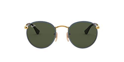 Ray-Ban Round Craft RB3475Q-919431 Montures de lunettes, Blujeans, 50.0 Mixte Adulte