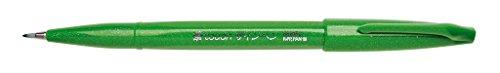 Pentel SES15C-D Feutre Pinceau en souple à base d'eau pour Croquis Vert