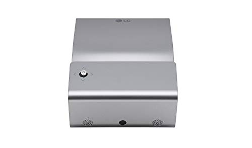 LG Beamer PH450UG bis 200 cm (80 Zoll) CineBeam LED HD Ultrakurzdistanz Projektor (450 Lumen, Drahtlose Screen-Share-Funktion, integrierter) silber grau