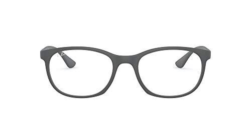 [レイバン] メガネ 0RX7183 SANDING GREY 53