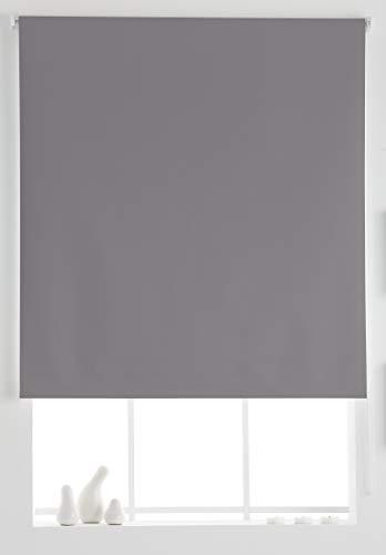 Estoralis Aral Estor Enrollable Liso, Gris, 170x175 cm
