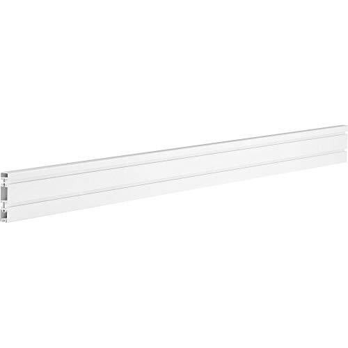 InLine Slatwall Panel Aluminium, für Wandhalterung, weiß, 1,2m 23180A
