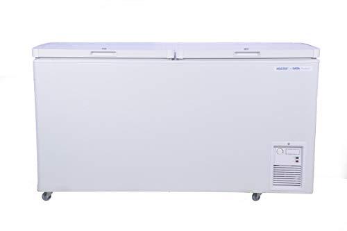 Voltas 500 DD CF Double Door Deep Freezer, 500 Liters, White