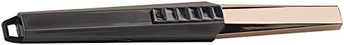 Carlo Milano Design Stabfeuerzeug: Elektronischer Design-Lichtbogen-Stabanzünder, 60 Zündungen, USB (Elektronisches Feuerzeug)