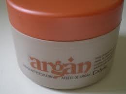 Crema corporal de aceite de argán, 200 ml