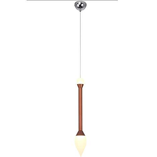 Cadena de 100CM Luz de suspensión de restaurante ajustable LED Nordic Postmodern Bar Lámpara colgante de techo Villa creativa Escalera Luz colgante Personalidad Ventana Tienda de ropa Araña