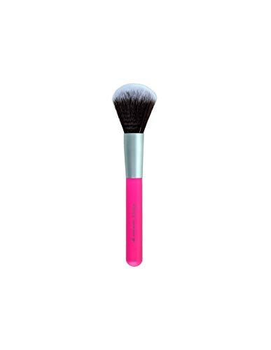 BENECOS - Pinceau à Poudres de Maquillage - Fibres synthétiques Toray - soyeux, doux et compact - Manche en bambou certifié - Vegan - 22,5 cm