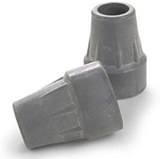 Invacare Crutch Tips - 1 3/4 Inch OD Base - Pack of 2