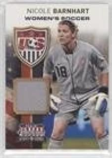 Nicole Barnhart #40/299 (Trading Card) 2012 Panini Americana Heroes & Legends - US Women's Soccer Team - Materials [Memorabilia] #17