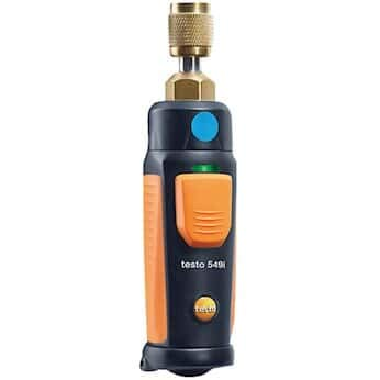 Testo 549i Smart Probe High-Pressure Refrigeration Probe for use with Smartphone or Tablet