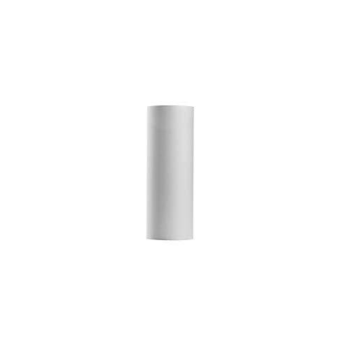 LUNETA - Pantalla para lámpara de pie (E27, diámetro de 23 cm), color blanco