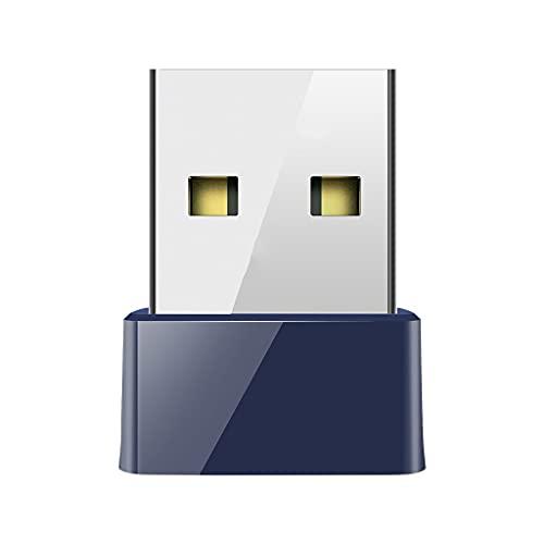 UOEIDOSB USB Bluetooth Compatible 4.0 Adaptador Dongle 150m Red WiFi inalámbrico LAN Tarjeta BT4.0 Adaptador de computadora portátil de escritorio ORDENADOR PERSONAL Receptor wifi
