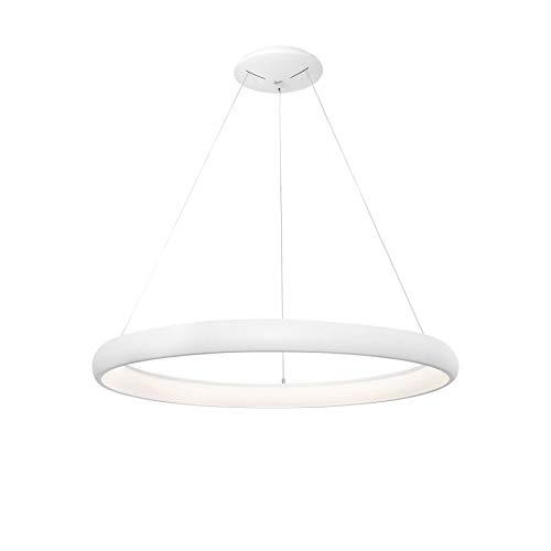 Nova Luce Albi - Lámpara de techo LED (diámetro de 61 cm), color blanco