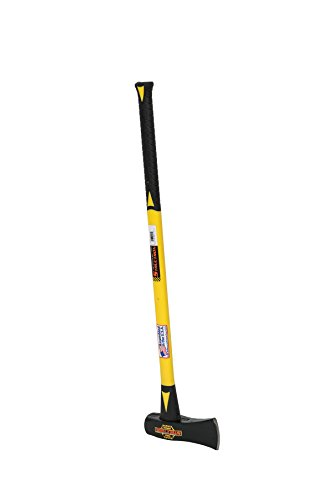 "Structron 41586 SH-6FG 6 lb. Sledge Eye Splitting Maul with 36"" Yellow Fiberglass Handle"