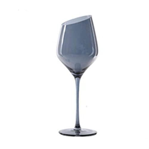 Copas Vasos Cóctel Vaso De Cristal Europeo Galvanoplastia Gris Plateado Gradiente Copa...