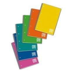 Quaderno spiralato ppl A5 One Color Blasetti