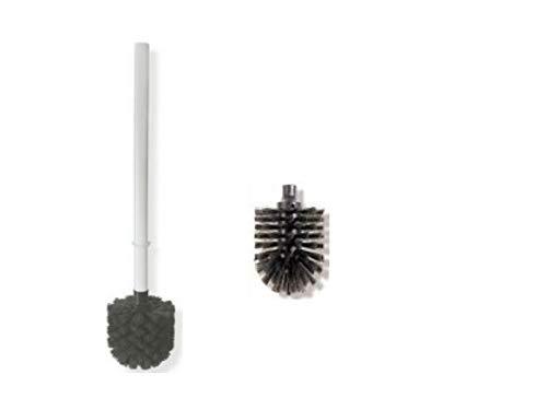 HEWI Ersatzbürste mit Stiel Farbe weiss WC Bürste + 1 Ersatzbürstenkopf