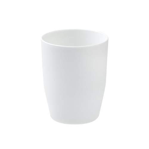FHC Tasse de Brosse Coupe, Tasse Lavage Plat Dents de Brosse à Dents de Voyage,White