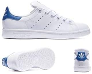 Adidas stan smith sneakers white blue for unisex