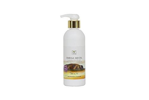 100% Pure Pharmaceutical Grade Emu Oil Infused with Rose Geranium Essential Oil (200ml)