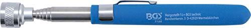BGS 3188 | Magnetheber | 650 mm | Zugkraft 3 kg| ausziehbar | Teleskop-Magnetheber | Teleskopmagnet | Magnetstab | Magnetgreifer