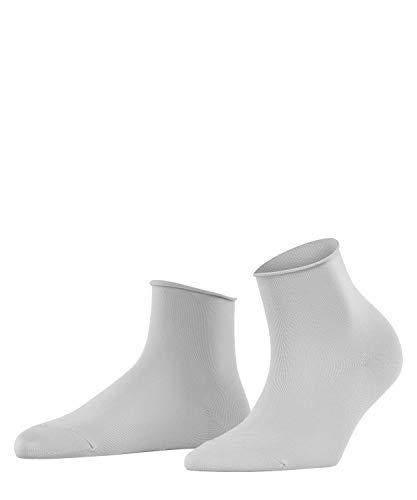 FALKE Damen Socken Cotton Touch Short - Baumwollmischung, 1 Paar, Grau (Silver 3290), Größe: 39-42