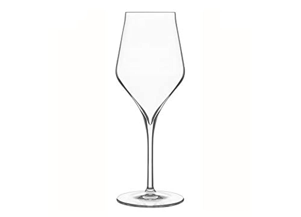 失業者ほのか誓いLuigi Bormioli - 7540460 - Supremo Box 6 Clear Crystal Wine Glasses - 8.1 x 8.1 x 22.1 cm