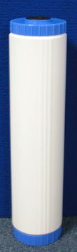 "APPLIED MEMBRANES INC pH Neutralization Water Filter Cartridge | Calcite Filter to Raise Alkalinity of Low pH Water | 20' Big Blue Size Fits 20"" Big Blue Filter Housing 