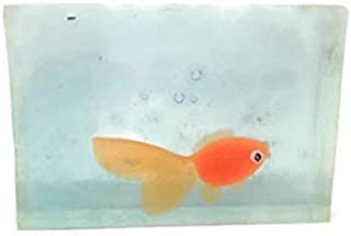 Kids Soap Clear Soap With Fish Toy inside 4 Ounce