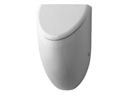 Duravit Urinal Fizz, Zulauf von hinten, ohne Deckel mit Fliege, weiß WonderGliss 823350007, 8233500071