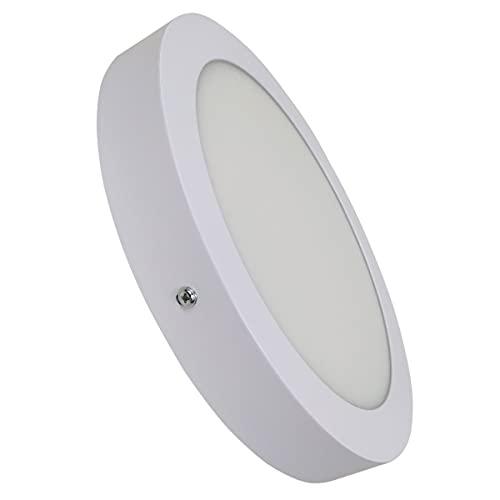 Led Atomant Lampara Plafon Superficie LED Redondo 20W. Color Blanco Frío (6500K). 1800 Lumenes. Driver incluido. A++