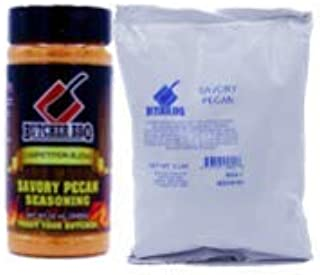 Butcher BBQ|Savory Pecan Seasoning | Barbecue Rub | Grilled Food with Refill Bag and 1 Shake | MSG Free Gluten Free 3 Pounds