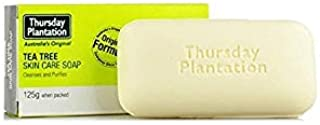 Thursday Plantation Tea Tree Soap 125g Deal for Removing The Build up of Oil and Dirt for All Skin Types Pure Tea Tree Oil...