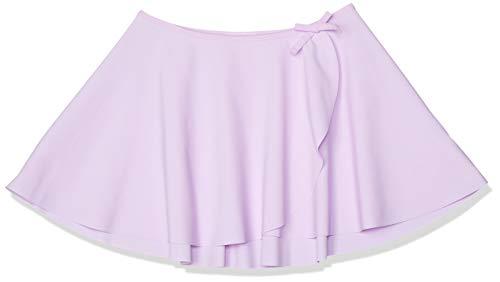 [ダンスキン] スカート キッズ カバースカート ガールズ DAJ60150 ライトバイオレット 130