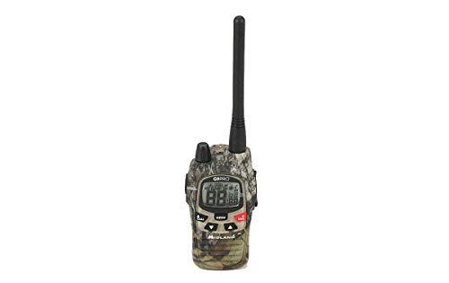 Midland G9 Pro Radio Receptor Walkie Talkie Dual Band 40 Canales PMR446 y 69 Canales LPD - 1 Transmisor, 4 baterías Recargables Ni-MH AA 1,2 V/1800 mAh, Cargador y Clip cinturón
