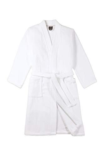 Joop! Bademantel Herren Kimono 1647 Weiß - 600 L
