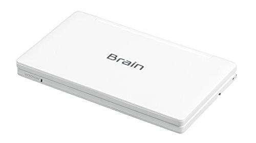 シャープカラー電子辞書Brain中学生モデルホワイト系PW-SJ2-W