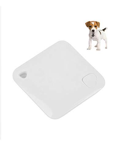 Bestgift - Rastreador GPS para perro y gato, Android IOS con tarjetero, GPS en tiempo real, color blanco