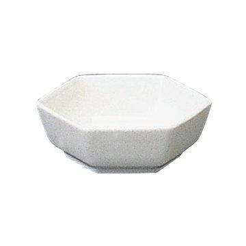 NARUMI(ナルミ) アメニティグッズ 六角バター皿 ボーンチャイナ 9265-582