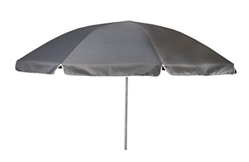 Bo-Camp Sonnenschirm, Gelenkarm, Ø 250 cm, Grau, Grau