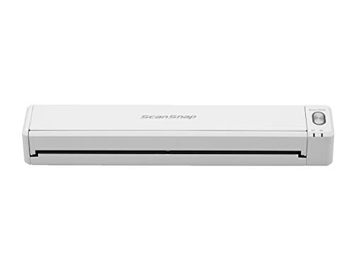 Fujitsu Scansnap IX100 Mobile Scanner - White