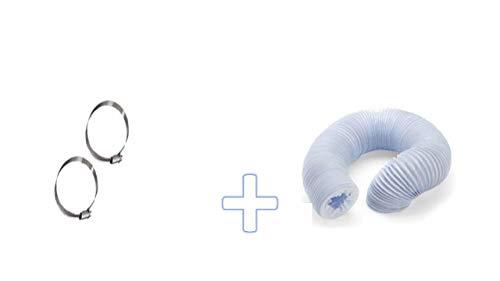Abluftschlauch PVC flexibel Ø 100/102 mm, 5 m z.B. für Klimaanlagen, Wäschetrockner, Abzugshaube