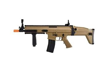 SOFT AIR USA FN Scar-L Spring Airsoft Rifle Tan 400 FPS