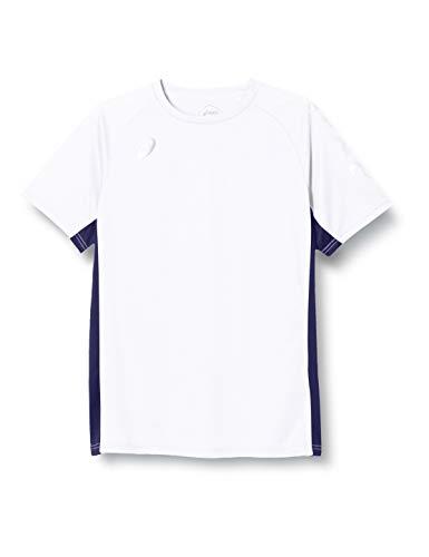 [アシックス] トレーニングウエア SPIRAL ASICS半袖シャツ 2031C230 メンズ 100(ブリリアントホワイト) 3XL